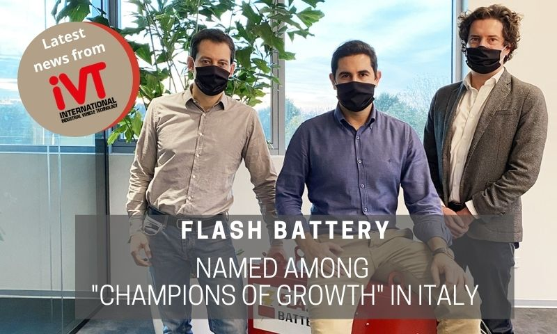 Flash Battery is Champion of Growth in Italy