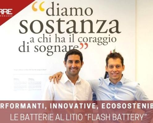 Econerre: intervista Marco Righi Flash Battery