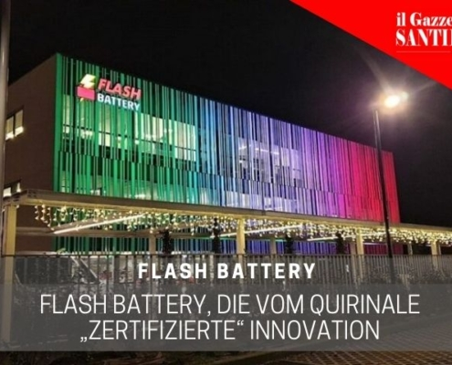 gazzettino santilariese flash battery vom quirinale zertifizierte innovation