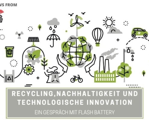 tce Recycling Nachhaltigkeit Innovation Flash Battery