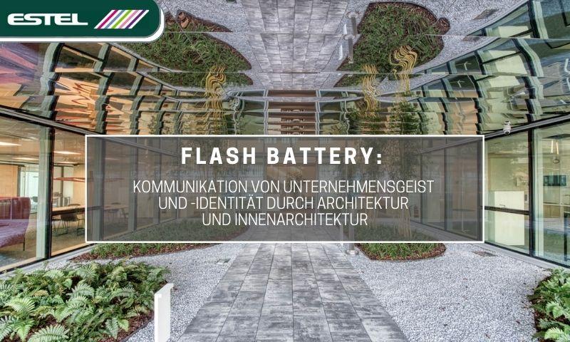 estel flash battery kommunikation identitaet durch architektur