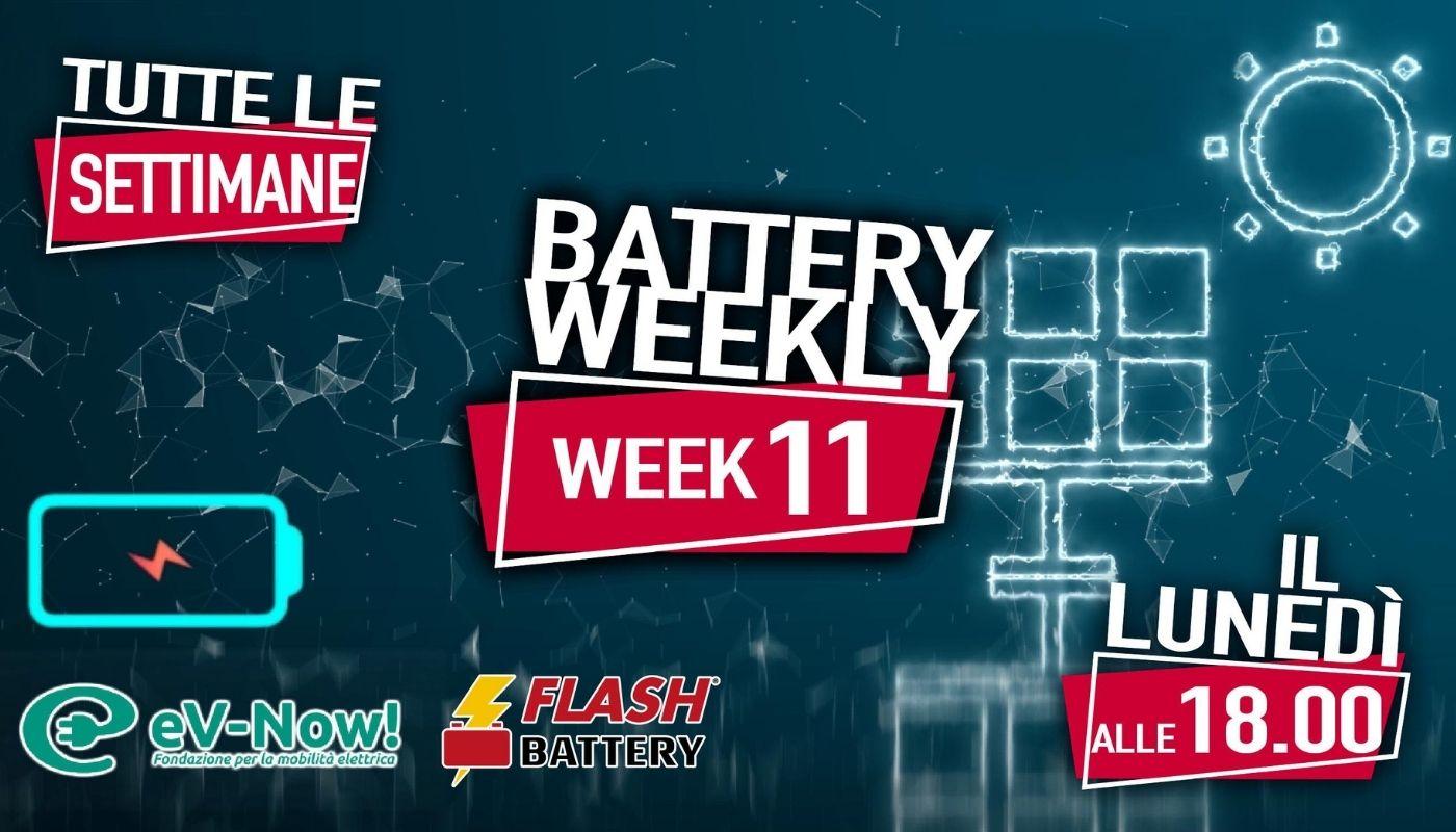 battery weekly week 11