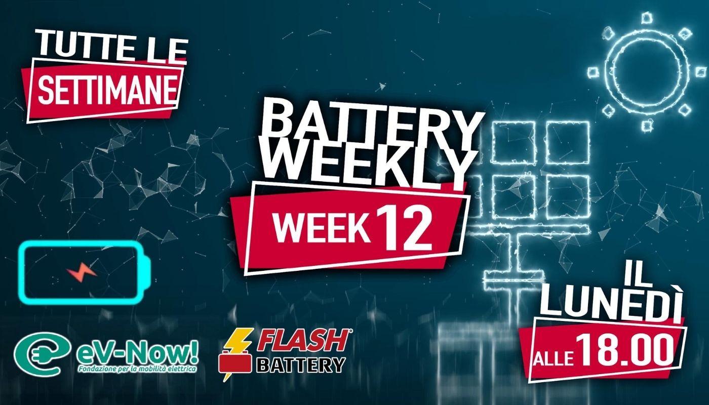 battery weekly week 12