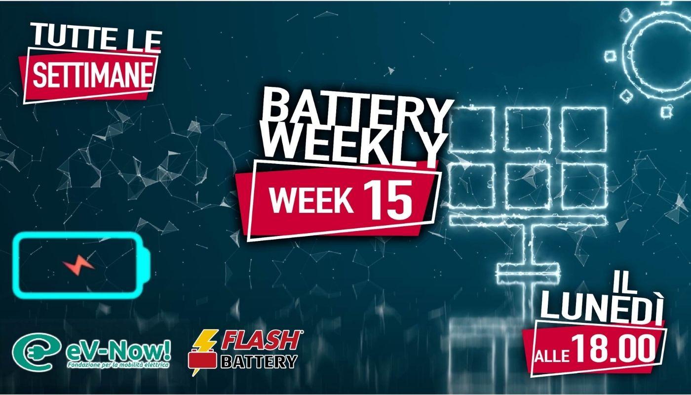 battery weekly week 15