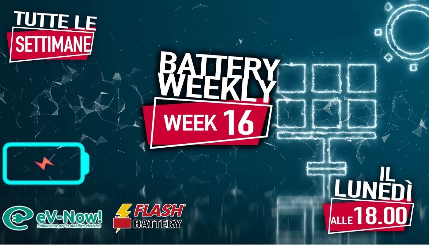 battery weekly week 16