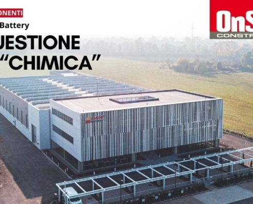 Onsite construction flash battery questione di chimica