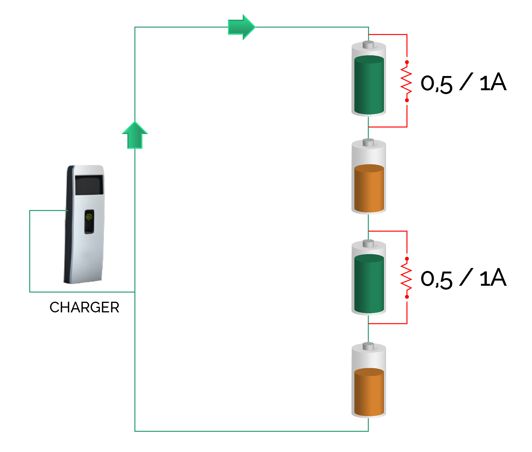 bms ausgleich lithium batterie