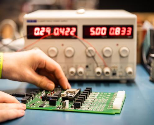 elettronica di controllo bms batterie litio