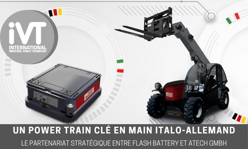 ivt partenariat Flash Battery Atech GmbH