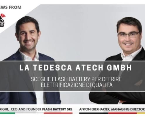 tce atech gmbh sceglie flash battery per elettrificazione mercato tedesco