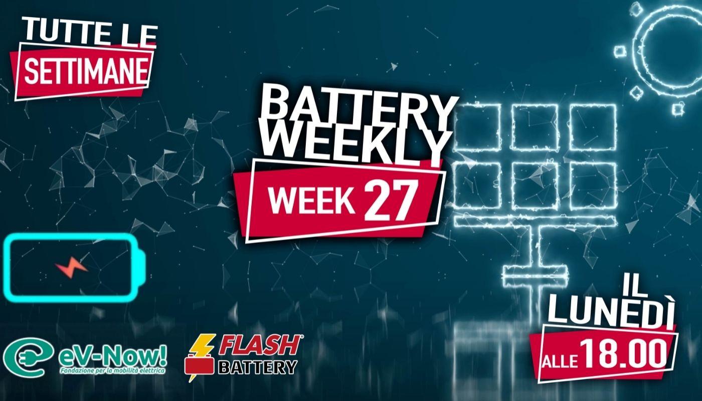 battery weekly week 27