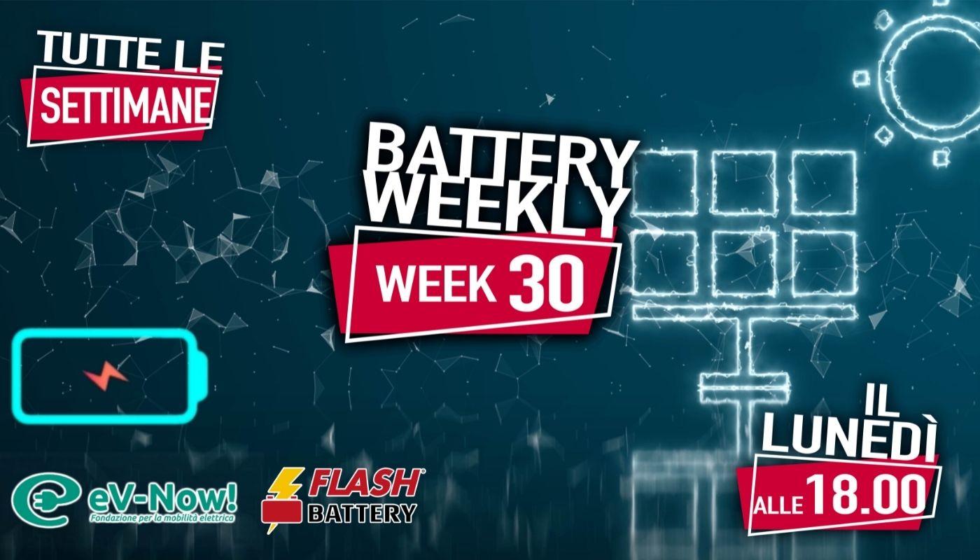 battery weekly week 30