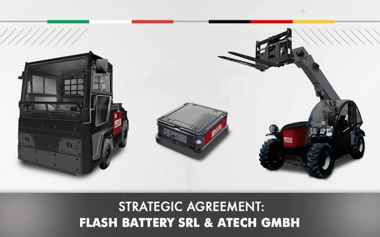 partnership atech antriebstechnik and flash battery