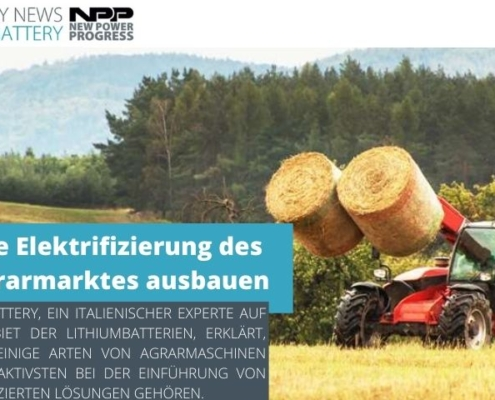 new power progress elektrifizierung agrarmarkt