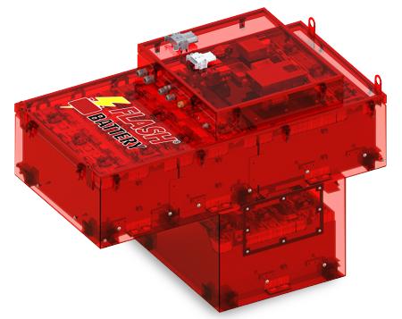 personnalisation batteries lithium flash battery