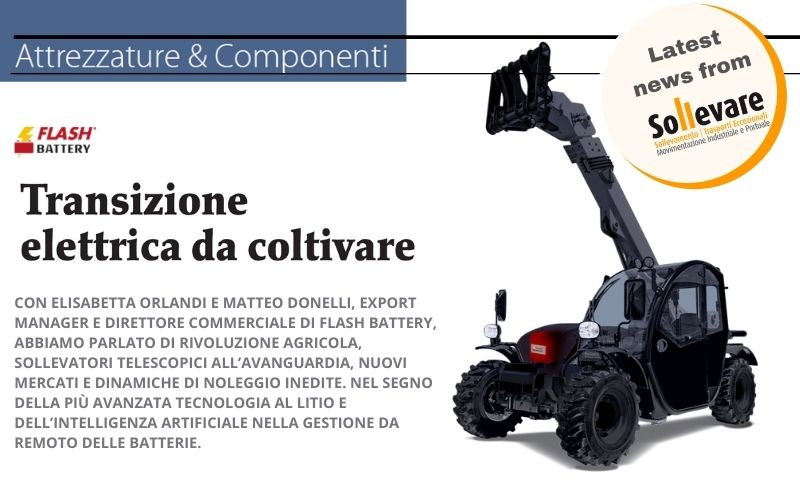 Sollevare electric transition agriculture
