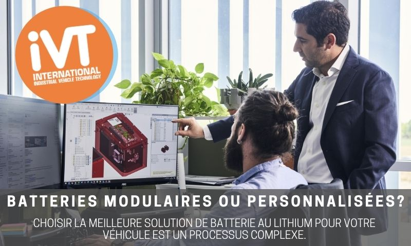ivt batteries modulaires ou personnalisées