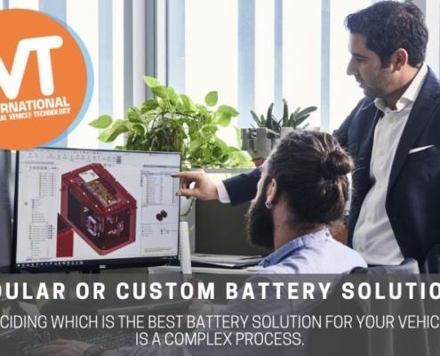 ivt modular or custom batteries