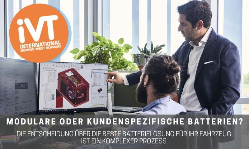 ivt modulare oder kundenspezifische batterien