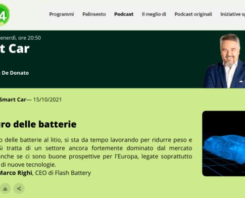 Radio24 intervista marco righi smartcar
