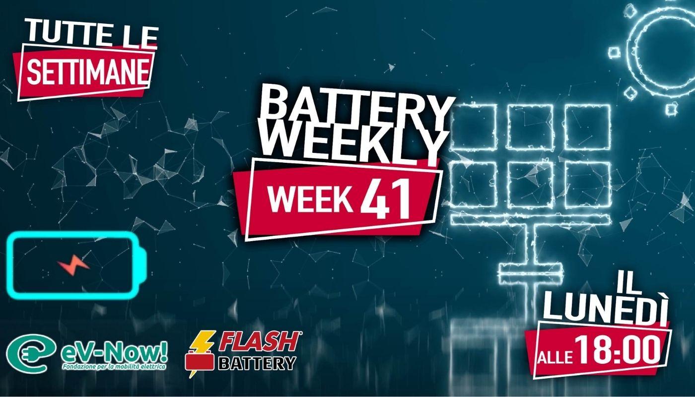 battery weekly week 41