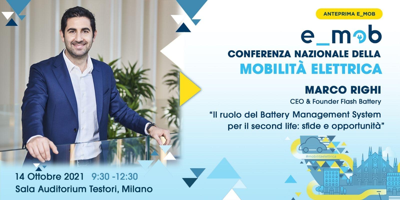 conference E-mob deuxieme vie Marco Righi